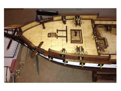 CONSTELLATION MODEL SHIP BUILD