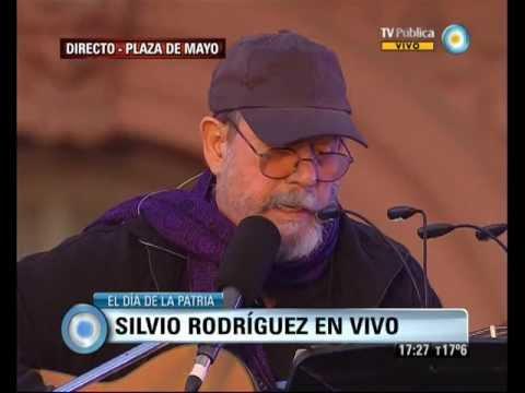 Visión 7: 25 de Mayo: Fiesta popular: Silvio Rodríguez en la Plaza