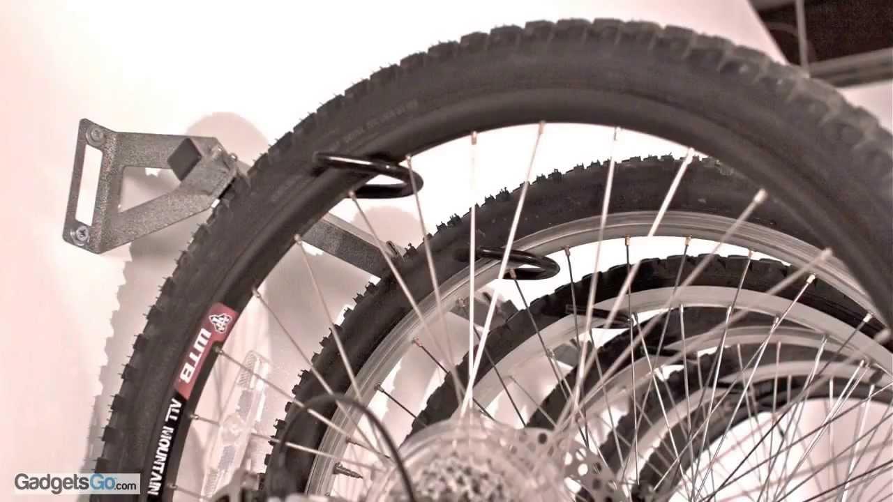 & Monkey Bars Garage/Room Bike Rack Installation - YouTube
