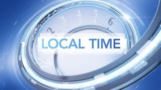 Local Time News Package After Effects template