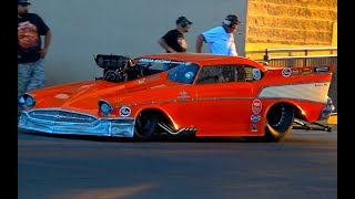 BLOWN V8 American Muscle Cars Wild Drag Racing Event