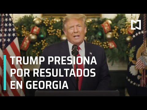 Elecciones EE.UU.: Trump presiona para anular resultados en Georgia - Las Noticias