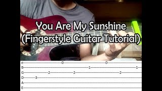 [With Tabs] You Are My Sunshine - Moira Dela Torre {Fingerstyle Guitar Tutorial} Ramon 13