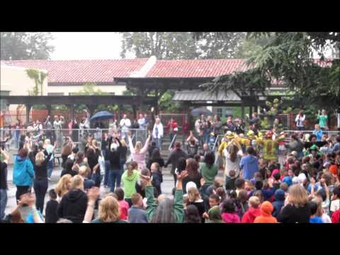 Principal Gayle Bluemel's Flash Mob video Serenation @ Sierra Madre Elementary School
