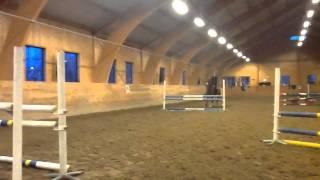 Annika o Mamsell träning 2014-04-08