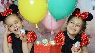 Киндер Сюрприз. Kinder Surprise eggs. Фиксики Открываем сюрпризы. Детский канал Расти вместе с нами.