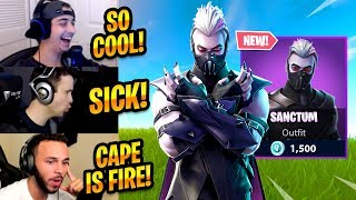 STREAMERS REACT TO *NEW* SANCTUM SKIN - Fortnite Best Moments & Fortnite Funny Moments #190