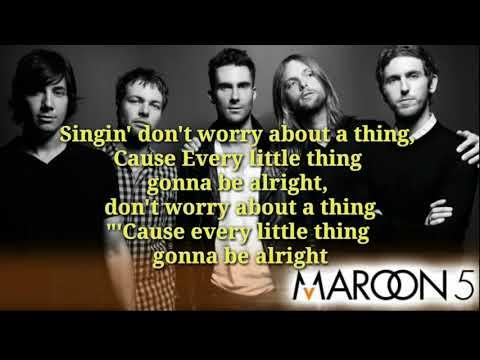 Maroon 5 - Three Little Birds (Lyric Video)