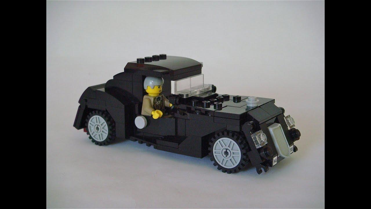 Lego custom MOC - Mr. Smiths\'s Classic/Vintage Car - YouTube