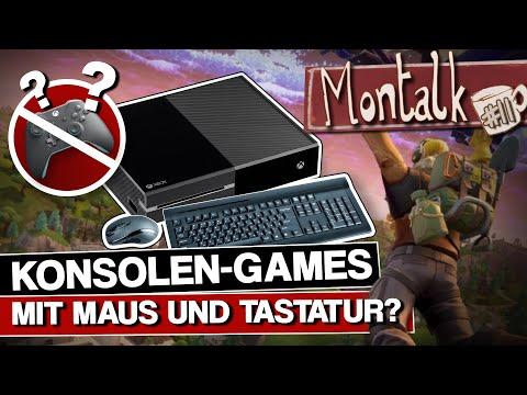 Konsolen-Support für Maus & Tastatur - hat der Controller ausgedient?   Montalk #11