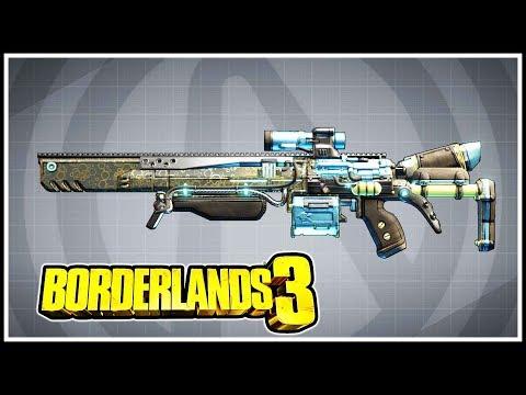 Laser-Sploder Borderlands 3 Legendary Showcase