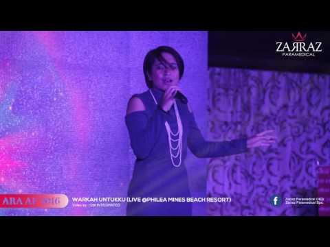 ARA AF 2016 - WARKAH UNTUKKU (LIVE)