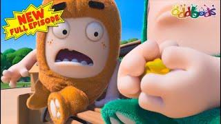 Oddbods | New | THE GOLDEN TICKET | Full EPISODE | Funny Cartoons For Kids thumbnail