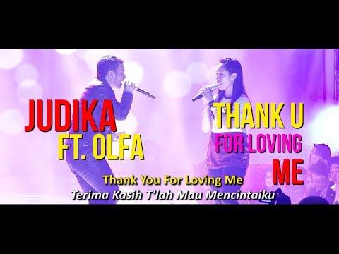 Judika ft. Olfarida - Thank You for Loving Me (Live at Dyandra Gramedia Expo)