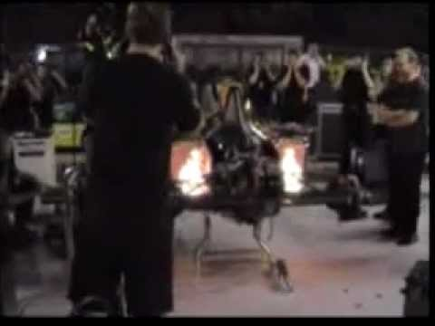 F1 engine test warm up v10 the real fire up !!