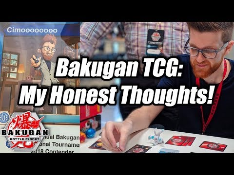 Bakugan TCG: My Honest Thoughts! | Part 1