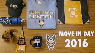 SUNY Canton Move in day 2016