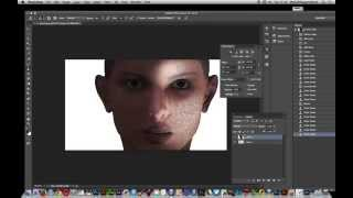 Photoshop CC 2014 -- Add noise via brush strokes tutorial