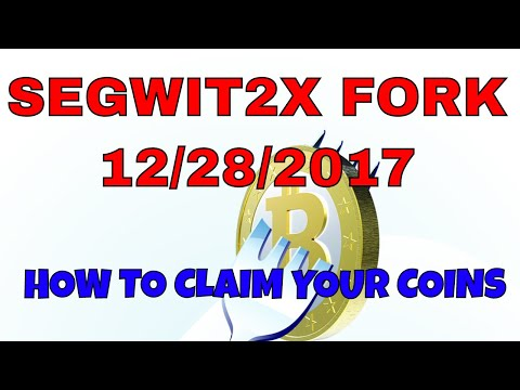 How to get Your Segwit2X Coins | Bitcoin is Forking in 2 Days December 28, 2017