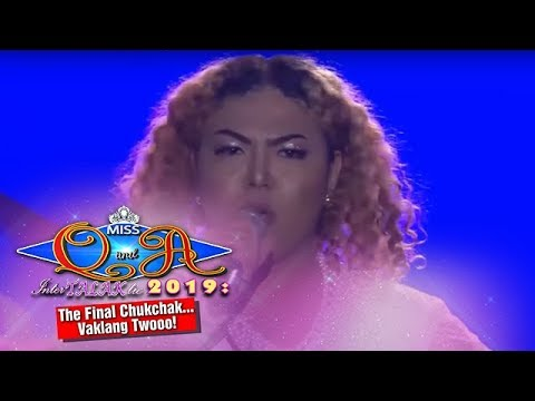 It's Showtime Miss Q & A Grand Finals: Czedy Rodriguez answers the final question