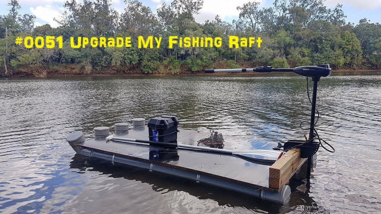 0051 upgrade the fishing raft with an electric outboard for Electric trolling motor for pontoon