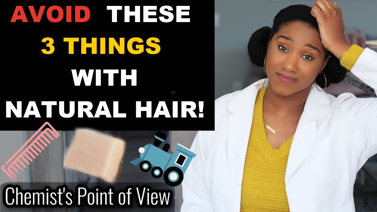 3 THINGS YOU CANNOT DO WHEN YOU HAVE NATURAL HAIR!