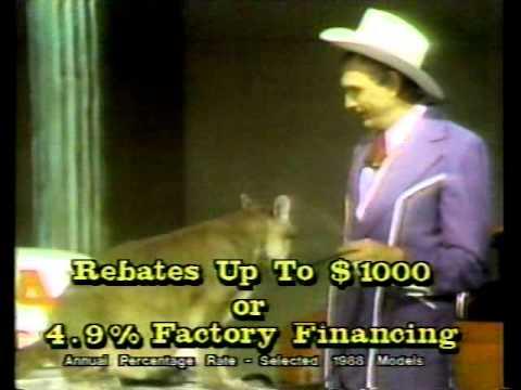 Cal Worthington Ford >> Cal Worthington Ford 1989 TV commercial - YouTube