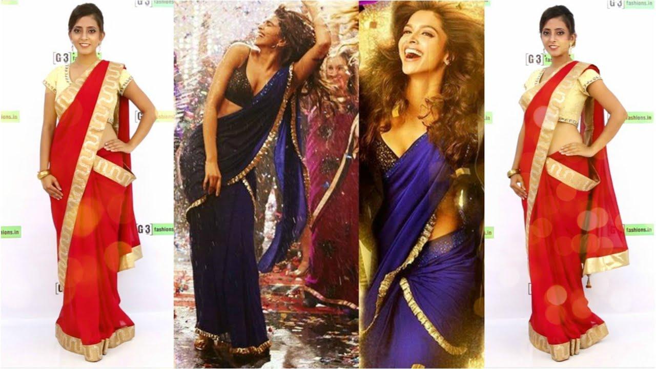 Deepika Padukone Saree Style | Yeh Jawani Hai Deewani ...