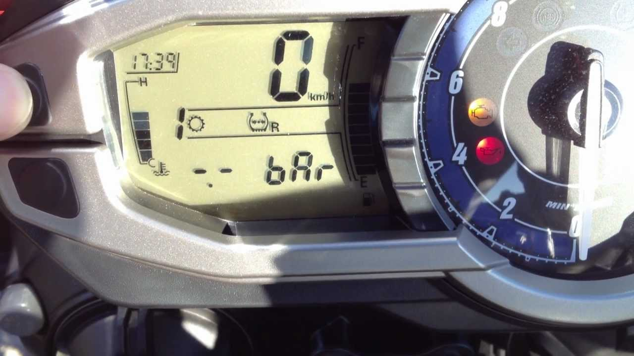 Triumph Tiger 800 Tpms Youtube