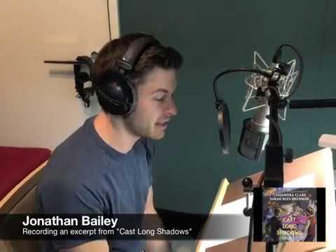 Jonathan Bailey reads CAST LONG SHADOWS book