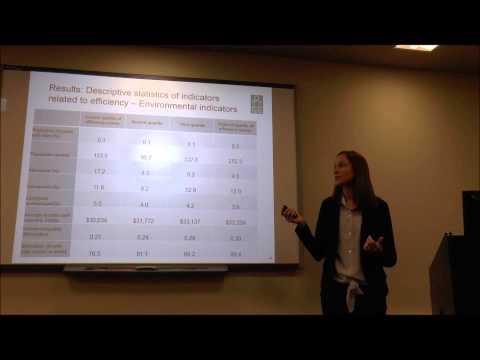 Measuring efficiency in Canada's health system