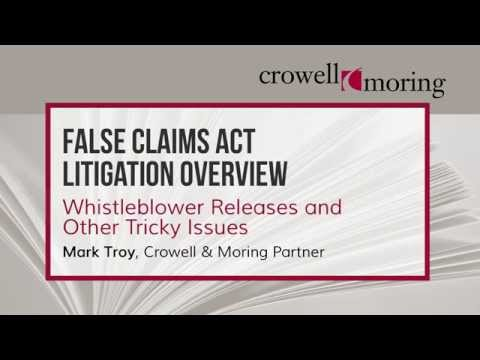Part 3: FCA Litigation Overview, with Mark Troy of Crowell & Moring