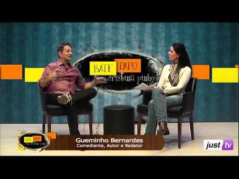 Gueminho Bernardes fala sobre carreira e projetos - Bate Papo  - JustTV - 13/05/13 parte 1