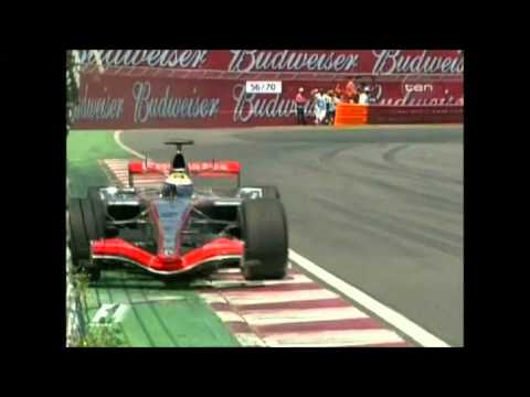 F1 Canada crash compilation
