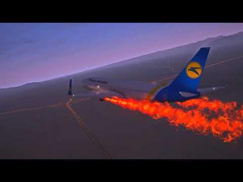 Flight 752 Hit by Missle! Ukraine Airlines 737-800 Crashed in Iran