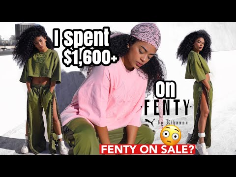 I SPENT $1,600+ ON FENTY PUMA...ON SALE! | jasmeannnn