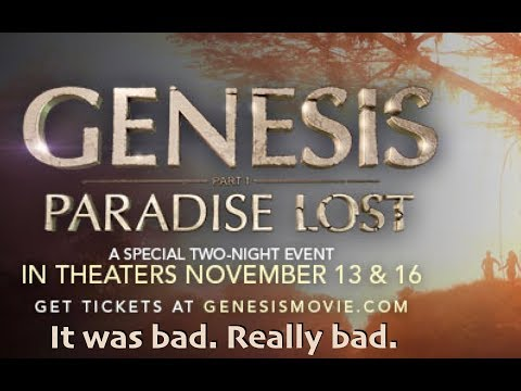 PZ Myers reviews Genesis: Paradise Lost