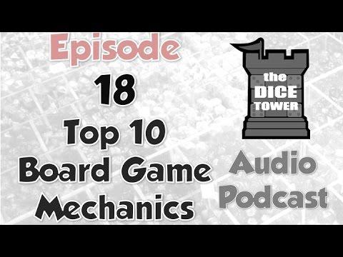 Dice Tower 18 - Top 10 Board Game Mechanics