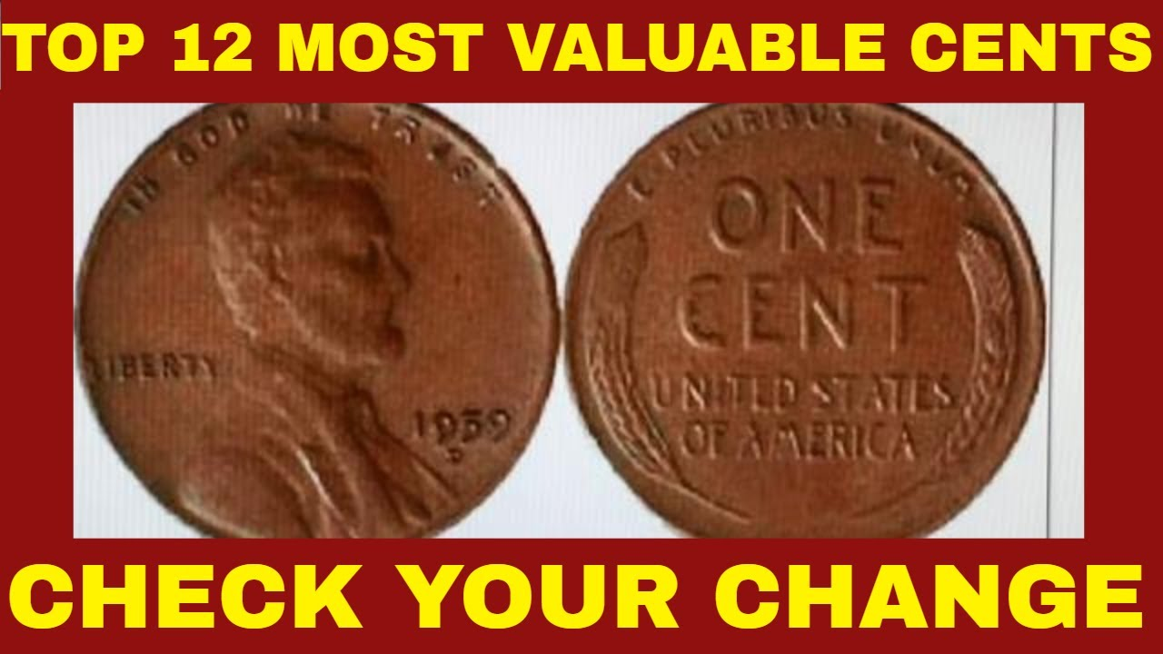 TOP DOZEN MOST VALUABLE MODERN LINCOLN CENTS WORTH BIG MONEY YOU CAN FIND  IN YOUR POCKET CHANGE