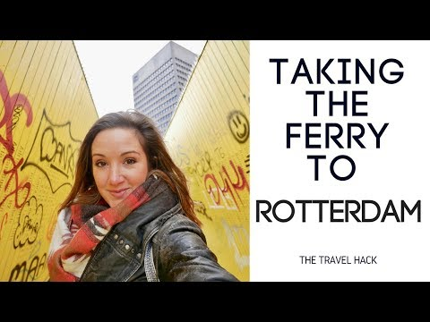 Taking the ferry to Rotterdam with P&O Ferries #ad