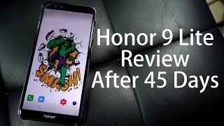 Honor 9 Lite Review after 45 Days