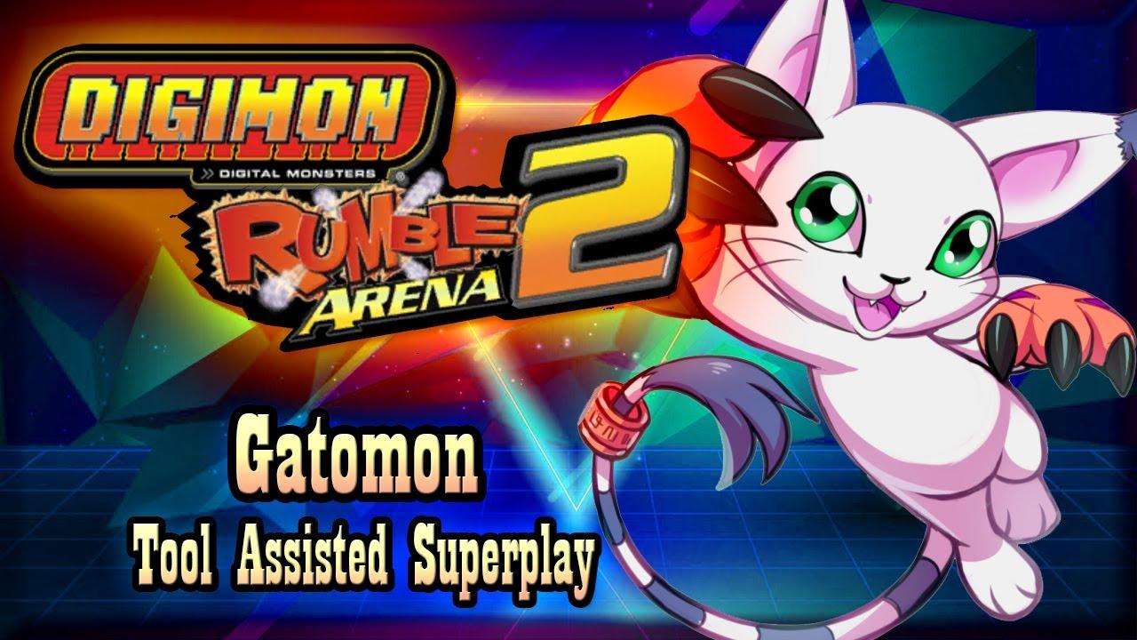 【TAS】DIGIMON RUMBLE ARENA 2 - TAILMON (GATOMON)
