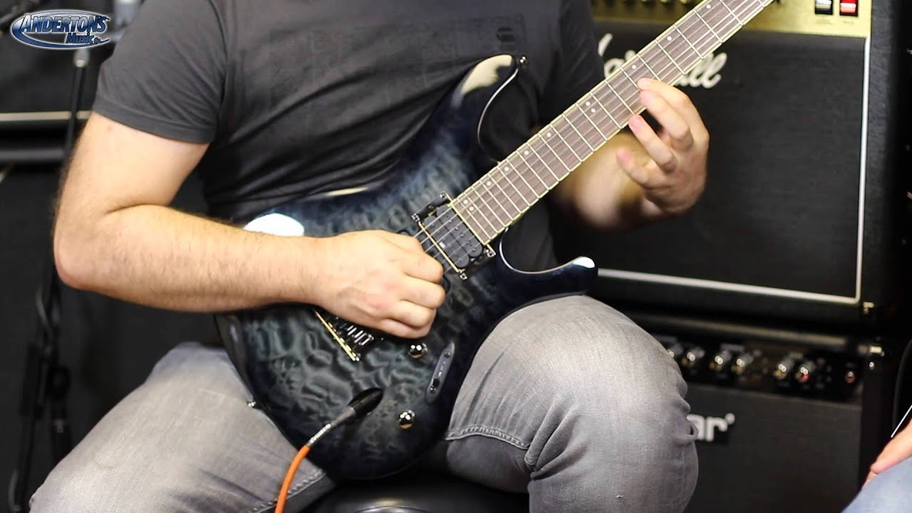 ibanez s series uk exclusive guitars youtube