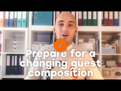 Prepare for a changing guest composition  | Oaky