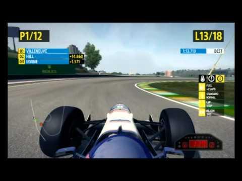 F1 2013 Brazil Fast Lap