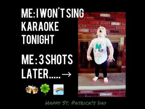 Beanie Karaoke St. Patrick's Day!!! 2018