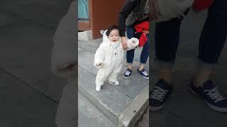 20191219 애기 곰돌이 직진본능 곰돌이 우주복 입…