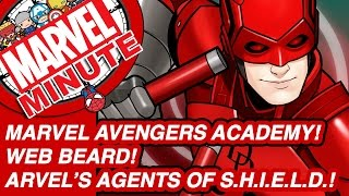Marvel Avengers Academy! Web Beard! - Marvel Minute 2016