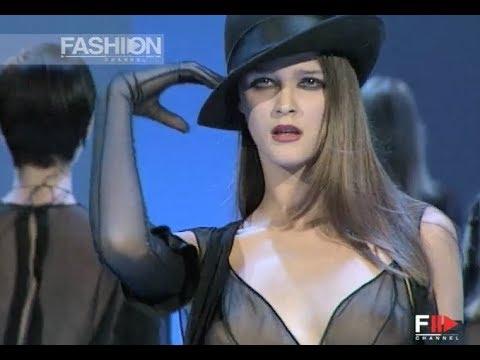 THIERRY MUGLER Fall Winter 1998 1999 Paris - Fashion Channel