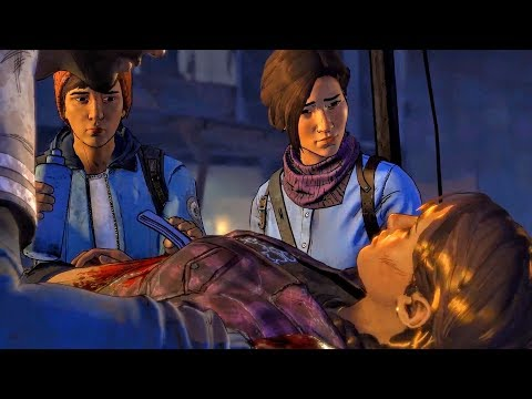 Eleanor and Javier Operate Wounded Kate in Prescott (Walking Dead   Telltale Games)
